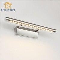 Modern Waterproof Anti Fog Bathroom 3W 5W 7W 9W 15W Led Mirror Wall Lights Lamps Stainless