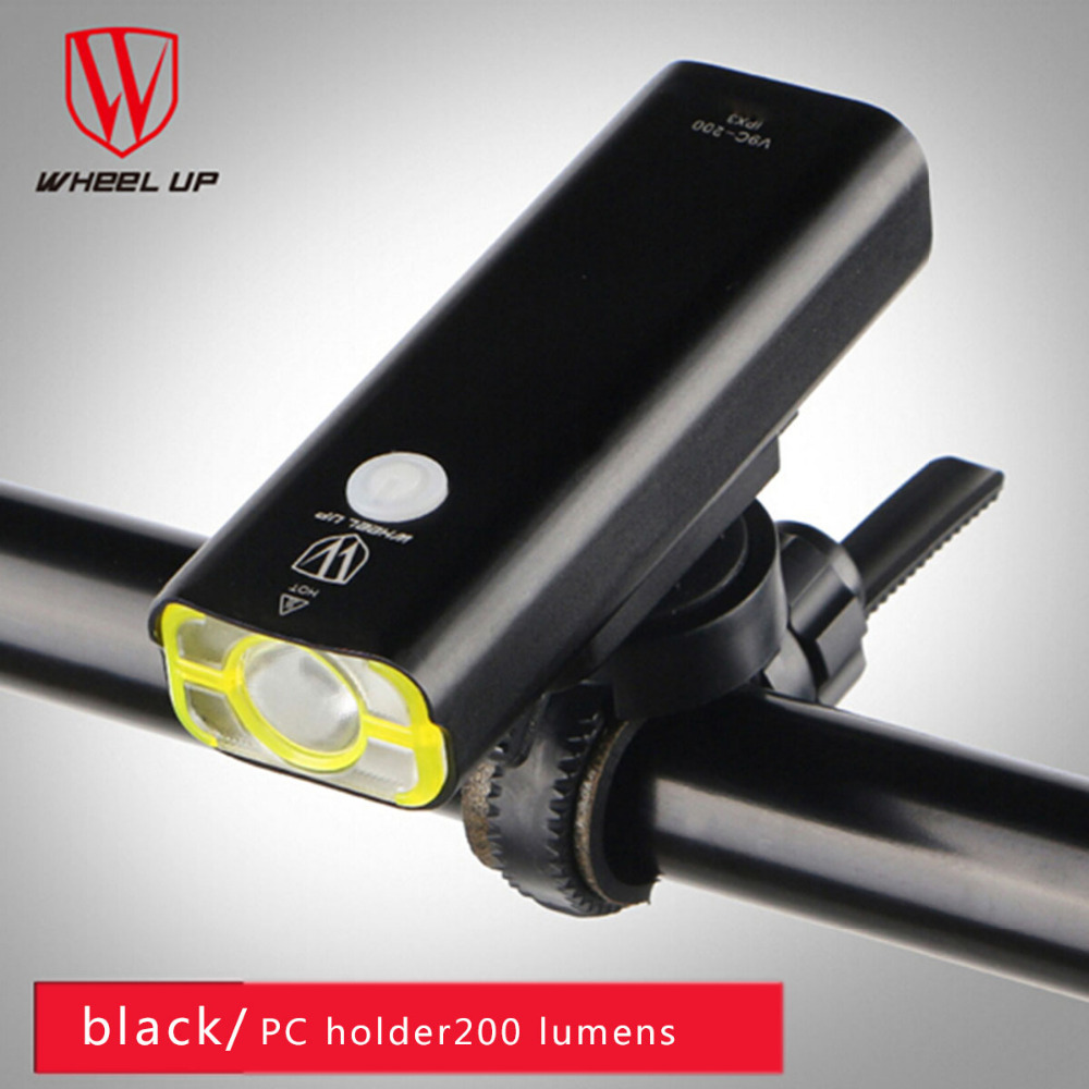 <font><b>Wheel</b></font> up Cycling Flashlight Bike Front Handlebar Led Lights Usb Rechargeable Battery Frame <font><b>Lamp</b></font> Biking Ultra-Bright Super Bright