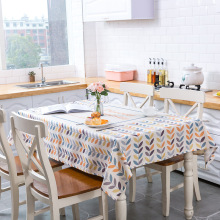 Ins Nordic Arrow Print Waterproof Tablecloth Kitchen Dining Table Decorations Home Rectangular Party Linen Covers