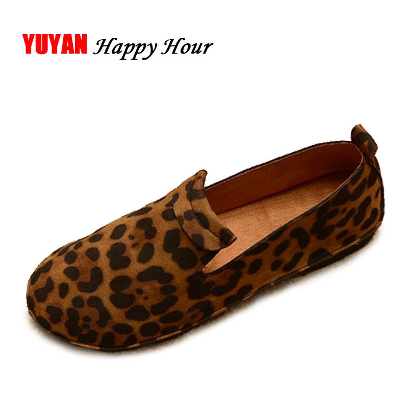 New 2018 Spring Shoes Women Flats Rould toe Soft Brand Shoes Women's Flats Ladies Brand Loafers ZH2514 2018 brand new spring