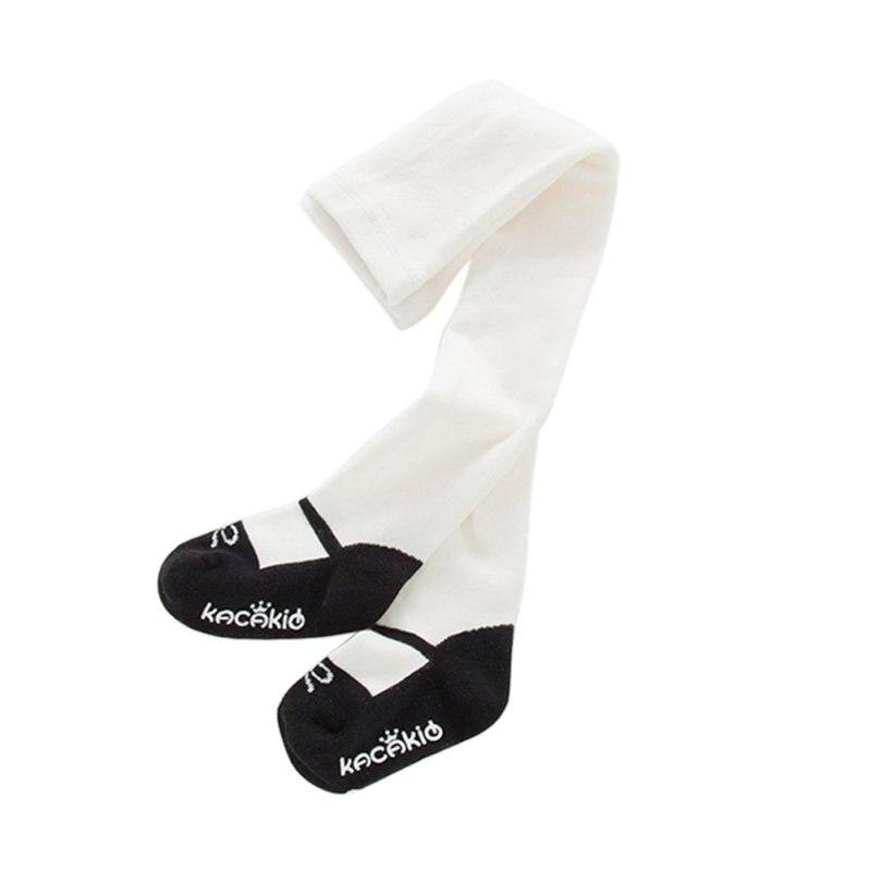 Moda lindo bebé Niñas algodón caliente Medias niños Pantalones ...