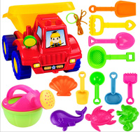 Kids Children Sand Beach Bucket Car Clay Mold Building Toys Classic Bathroom Fun Toys At Home