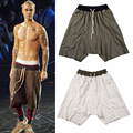 Summer shorts streetwear hip hop clothes short stretch cotton  sweat jogger shorts casual drawstring beach kanye short