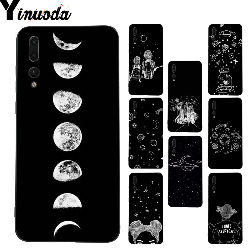Cellphones & Telecommunications Yinuoda Planet Pattern Space Eclipse Of The Moon Phone Case For Huawei P9 P10 Plus Mate9 10 Mate10 Lite P20 Pro Honor10 View10 Half-wrapped Case