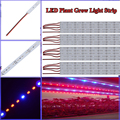 Wholesale 100PCS/LOT 0.5M 27Red+9Blue or 30Red+6Blue 12V DC LED Grow Light Strip For Hydroponic Plants Flower LED Grow Light Bar