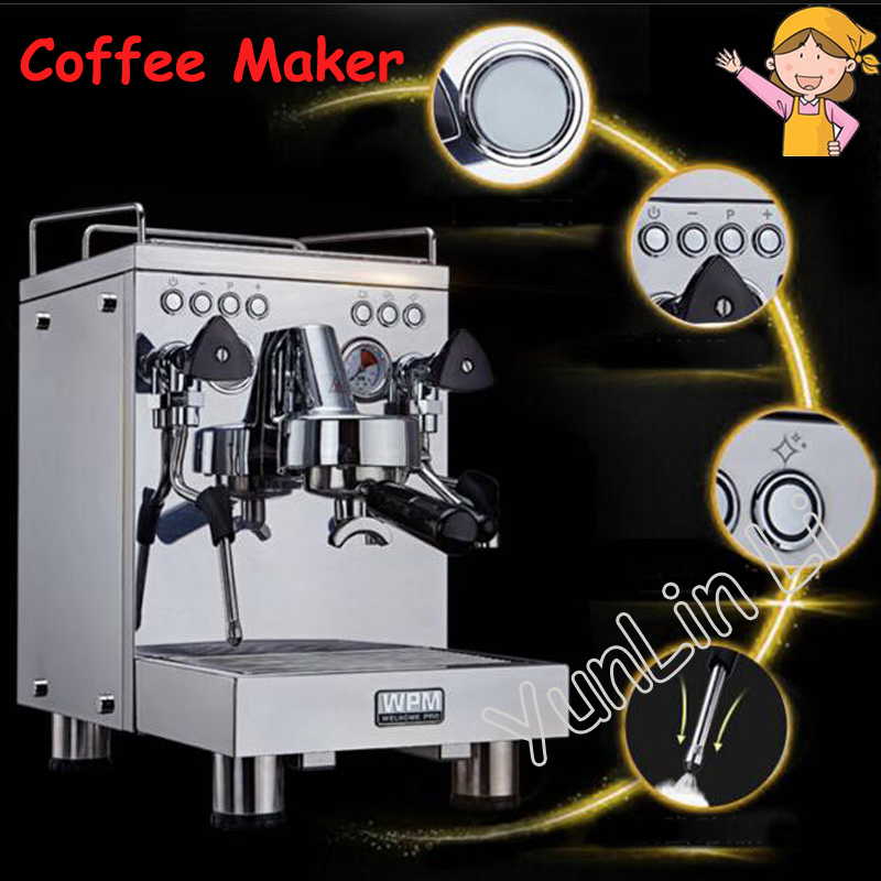 Professional Semi-Automatic Coffee Maker Commercial Espresso Coffee Machine Household Coffee Maker Latte Cappuccino Mocha KD-310 coffee maker philips hd8649 01 hd8649 51 coffee machine coffee makers maker espresso cappuccino automatic hd 8649 grain