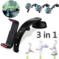 3 in 1 Universal Car Windshield Dashboard Air Vent Mount Holder Mount Phone Holder For Mobile Phone For Iphone