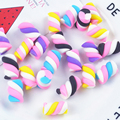 5 шт.  хлопковые конфеты  слаймы  DIY аксессуары  игрушки  поставки слаймов  наполнитель Lizun  дополнение для прозрачного пушистого слайма  Подар...