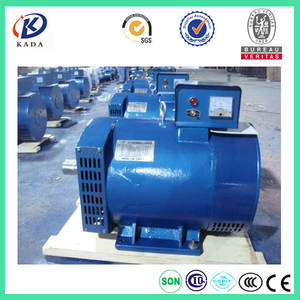 ST 5KVA alternator AC Single Phase Brush Diesel Generator Alternator