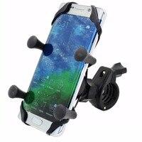 MOTOPOWER Bike Motorcycle Cell Phone Mount Holder Universal Mountain & Road Bicycle Motorcycle Handlebar Holder for Phone GPS