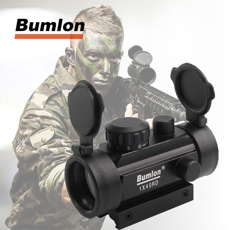 Rifle Scope Red Dot tactique holographique point vert optique