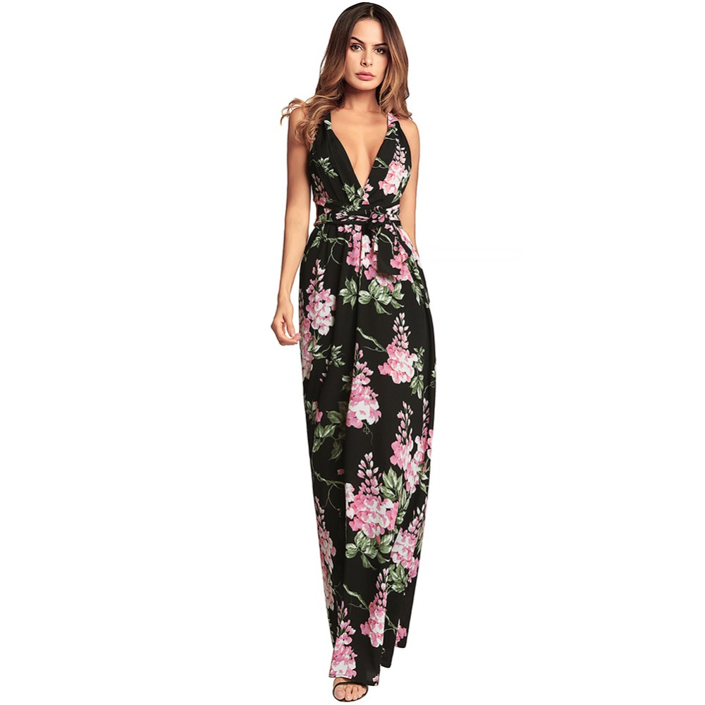 cc2420d6d1e Long Black Sleeveless Dress Plus Size - raveitsafe