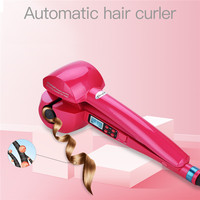 LCD Screen Automatic Hair Curler Fast Heating Hair Care Styling Tools Ceramic Wave Hair Curl Magic Curling Iron Wand Hair Styler