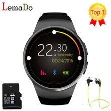 KW18 Bluetooth smart watch full screen Support SIM TF Card