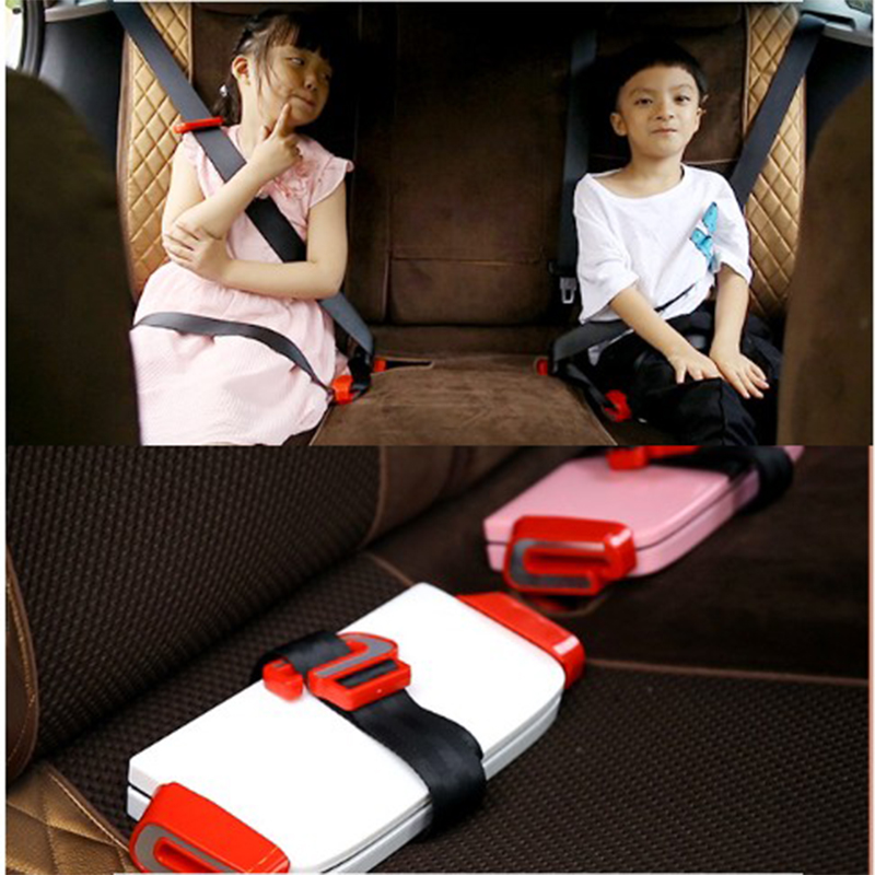 New Portable Children Kids Baby Car Vehicle Safety Seat Fit For 3-12 years Children, ABS Silicone Folding Seat Booster Cushion vehicle car accessories auto car seat cover back protector for children kick mat mud clean bk