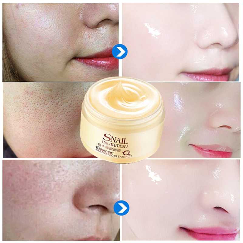 Snail Whitening Firm Facial Mask Cream Face Care Fade Dark Spots Treatment Skin Care Face MASK Anti Wrinkle Aging Moisturizing Facial mask
