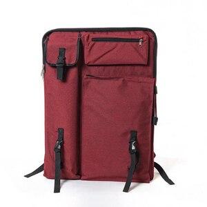 Image 2 - Grand sac dart pour planche à dessin peinture ensemble voyage croquis sac pour croquis outils toile peinture Art fournitures pour artiste