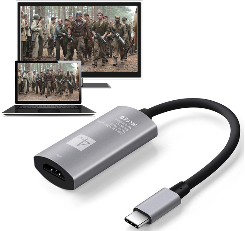USB 3.1 Type C to HDMI Female Video Adapter Cable 4K Converter for Samsung Galaxy S8 S8+ Note8 For LG G5 for Macbook to TV HDTV