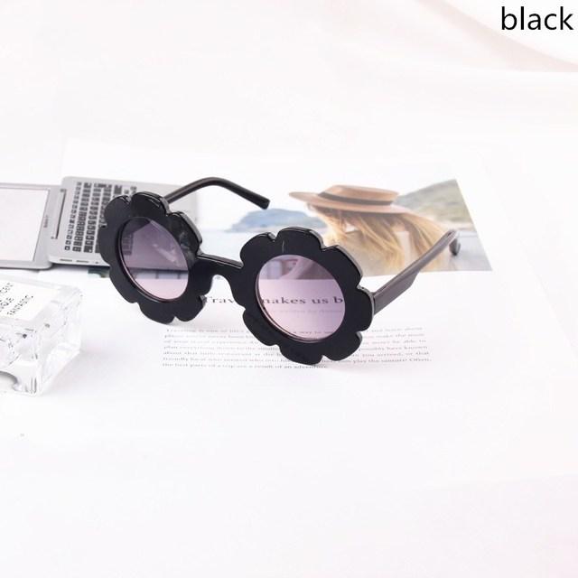 Sun Flower kids sunglasses boys girls Round UV400 glasses sunglasses children Lovely baby sun glasses gafas de sol mujer