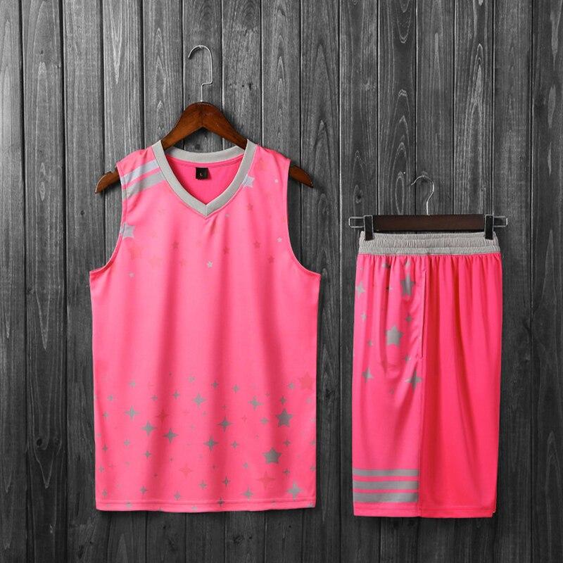 Onedoyee נשים נשיים לנשימה ילדי ספורט ביגוד סטי ג 'רזי ערכות מדים כדורסל אימון כדורסל ג' רזי מכנסיים