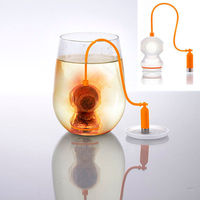 Diver Loose Leaf Tea Strainer Deep Coffee Tea Infusers Makers Bag Mug Filter Kitchen Free Shipping