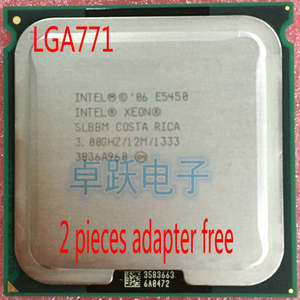 Intel Processor 775-Adapters Lga771-Core E5450 Quad Q9650 Close CPU Give Two-771 Two-771