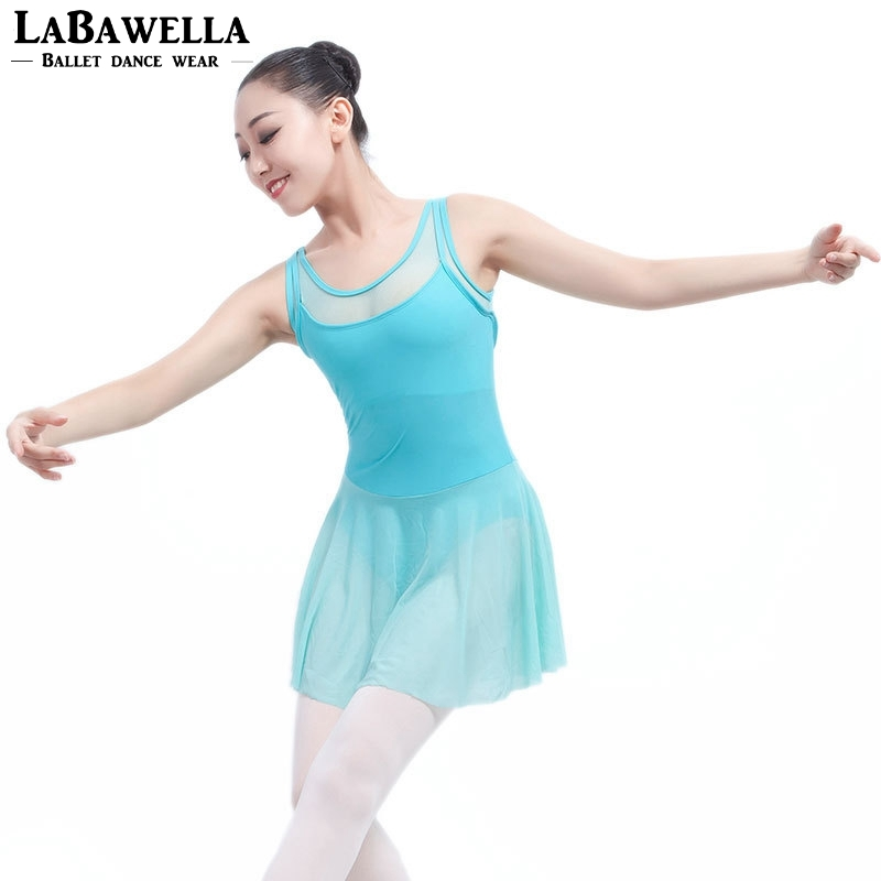 2e817397c6cd professional stage ballet clothes dress adult tank black mesh ballet  leotard dancing dress lyrical dress ML6031-in Ballet from Novelty & Special  Use on ...