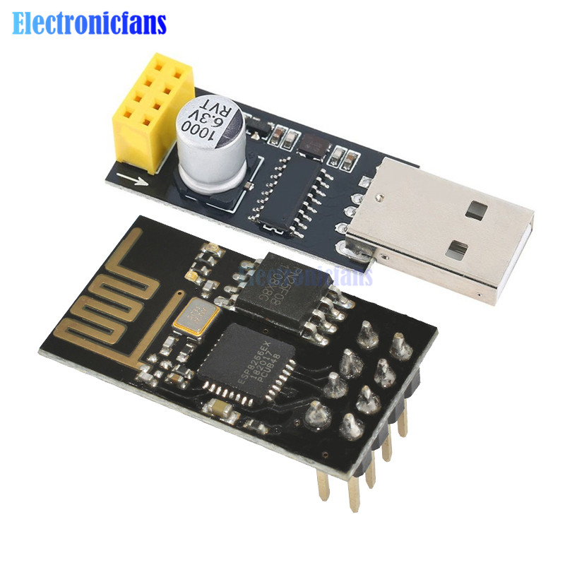 ESP01 Programmer Adapter UART ESP-01 Adaptater ESP8266 CH340G USB To ESP8266 Serial Wireless Wifi Developent Board Module