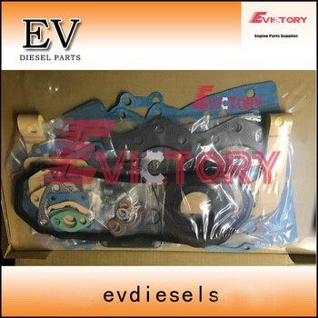 Для двигателя Mitsubishi mini экскаватор S3F полный комплект прокладок головки цилиндра