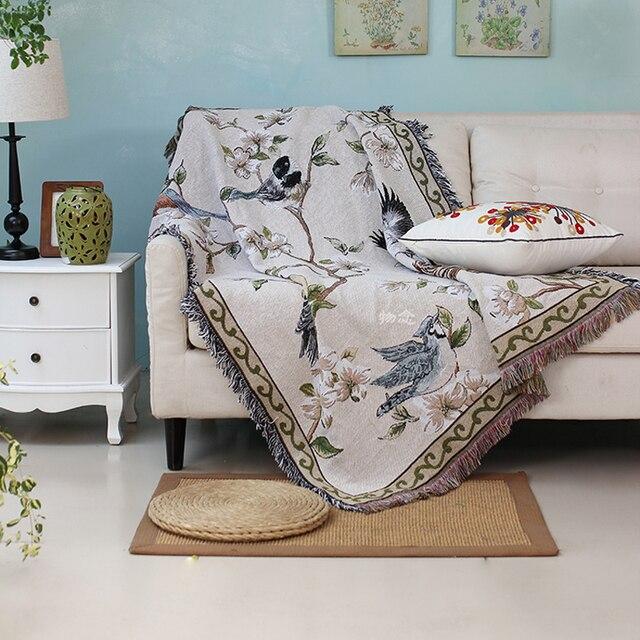 Aliexpress 100 Baumwollfden Natrliche Design Decken Fr
