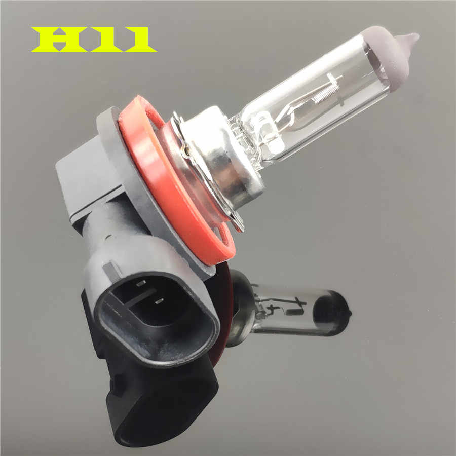 100 Вт Автомобильные фары супер яркие галогенные лампы H1 H3 H4 H7 H8 H11 9005 HB3 9006 HB4 12В 55 Вт 4300 К прозрачные Противотуманные фары дальнего света