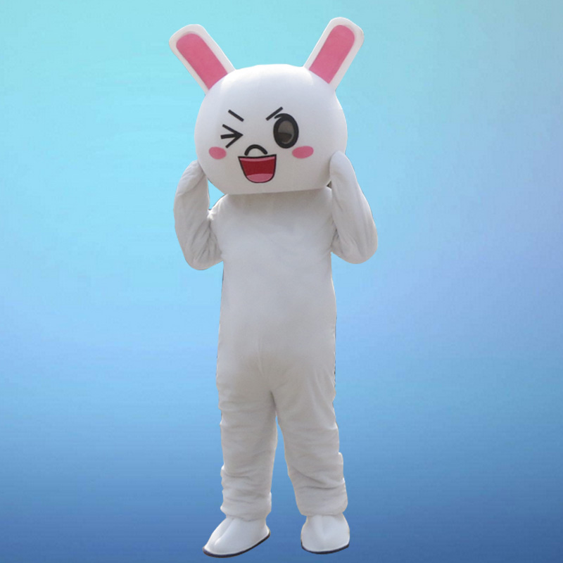 Rabbit Mascot costume Bugs Rabbit Hare Easter Adult Mascot cosplay costumes Cakes Professional Christmas Costume in Mascot from Novelty Special Use
