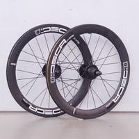 JAVA Deca 20 406 Aluminum Mini Velo Wheelsets Rim Disc Brake 42mm Width 100mm 135mm 8 10 speed Folding Bike Minivelo Wheels Rim