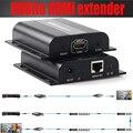 Новый ПРОТОКОЛ TCP/IP HDbitT HDMI extender ИК через маршрутизаторы по cat6/7 кабеля до 120 М (только приемник) поддерживает 1 TX N RX