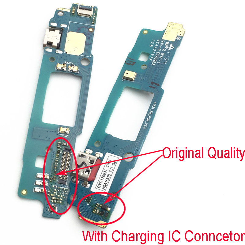 New Micro Dock Connector FPC Board For HTC Desire 828 830 USB Charging Port Flex Cable Replacement