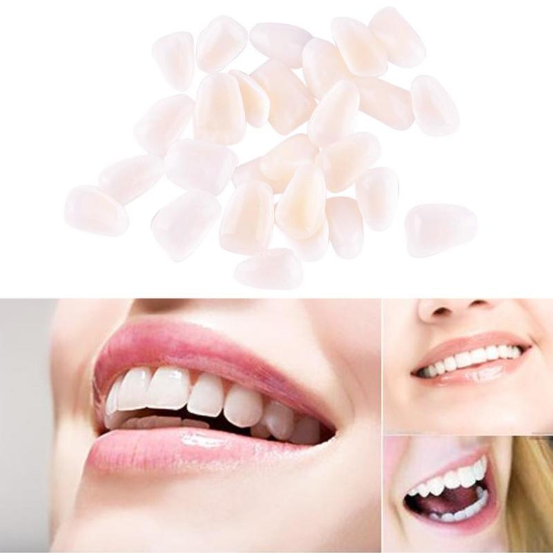 50Pcs Ultra-Thin Dental Teeth Veneer Mayitr Resin Whitening Teeth Upper Anterior Shade