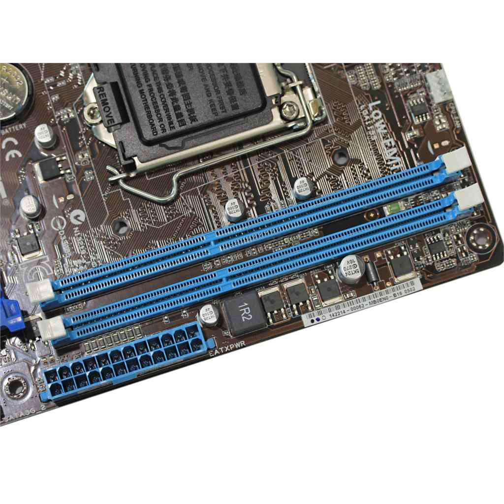 Lga 1155 para intel h61 asus H61M-E 100% original placa-mãe ddr3 16g h61me desktop mainboard pci-e x16 systemboard vga usado