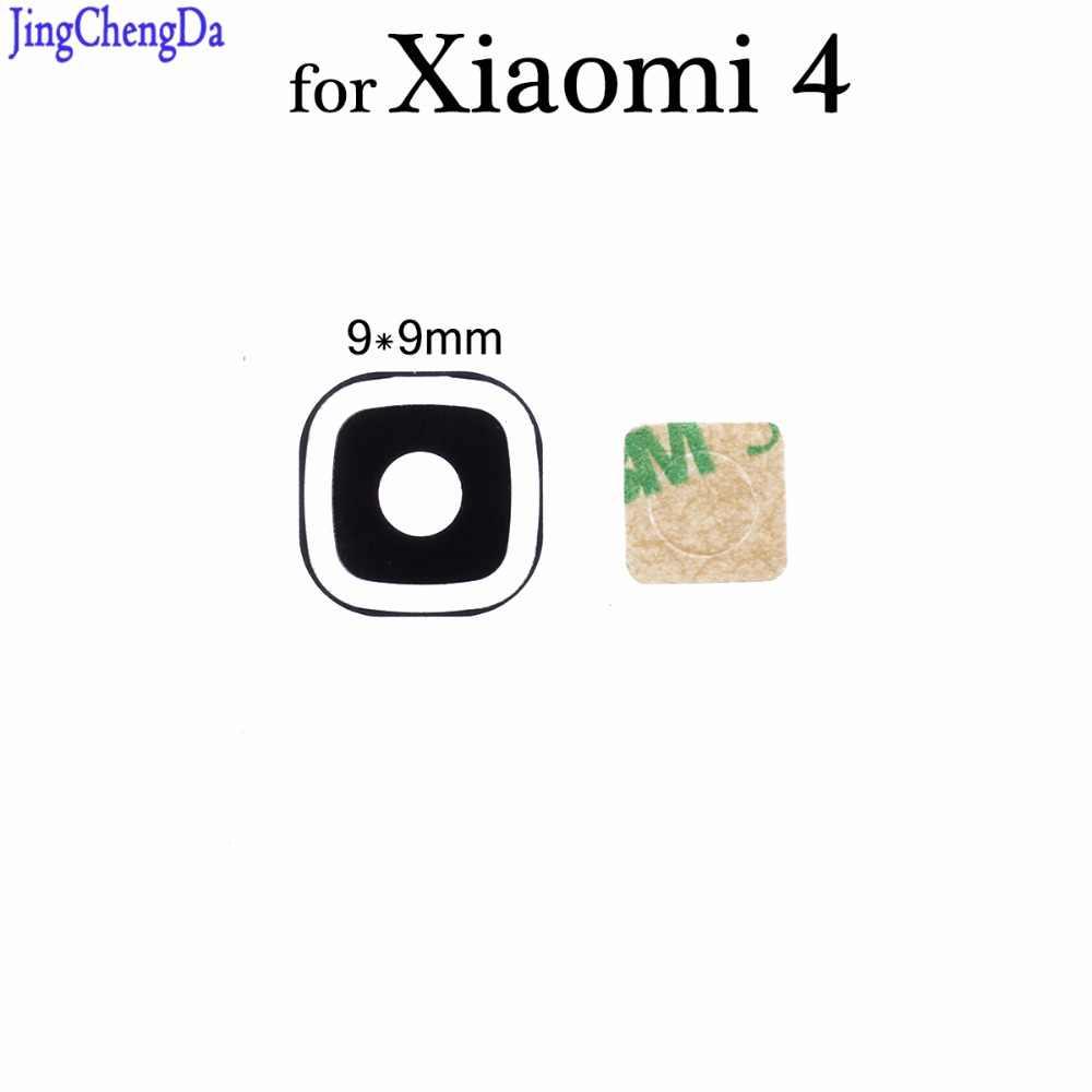 JCD 1 قطعة زجاج عدسة ل شياو mi mi 4 mi 4 الخلفية كاميرا خلفية غطاء لعدسات النظارة استبدال الهاتف إصلاح قطع الغيار