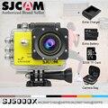 New Original SJCAM SJ5000X 4 K Edição Elite Do Esporte câmera HD DV 2.0 LCD Mergulho 30 m À Prova D' Água Câmera Ação Capacete Livre grátis