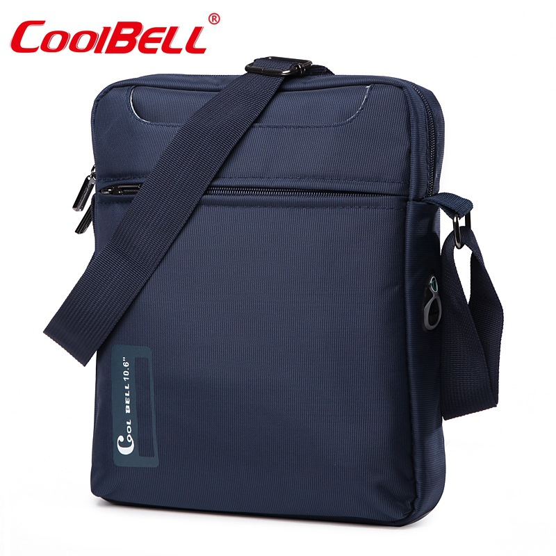 Cool Bell 10 10.6 Inch Tablet Laptop Bag For IPad 2/3 /4 IPad Air 2/3 Men Shoulder Laptop Messenger Bag Small Crossbody Bag