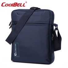 Cool Bell 10 10.6 inch Tablet Laptop Bag for iPad 2/3 /4 iPad Air 2/3 Men Shoulder Laptop Messenger Bag Small Crossbody Bag tee 10 one shoulder sleeves bag w handle for ipad ipad 2 ipad 3 blue white