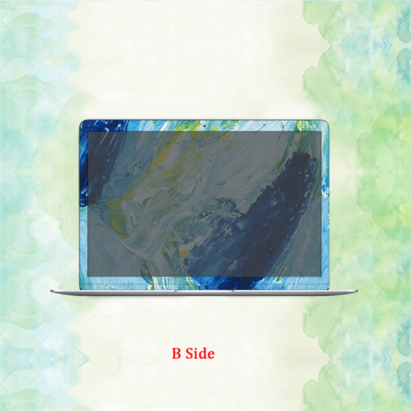 pele etiqueta do portátil para apple macbook