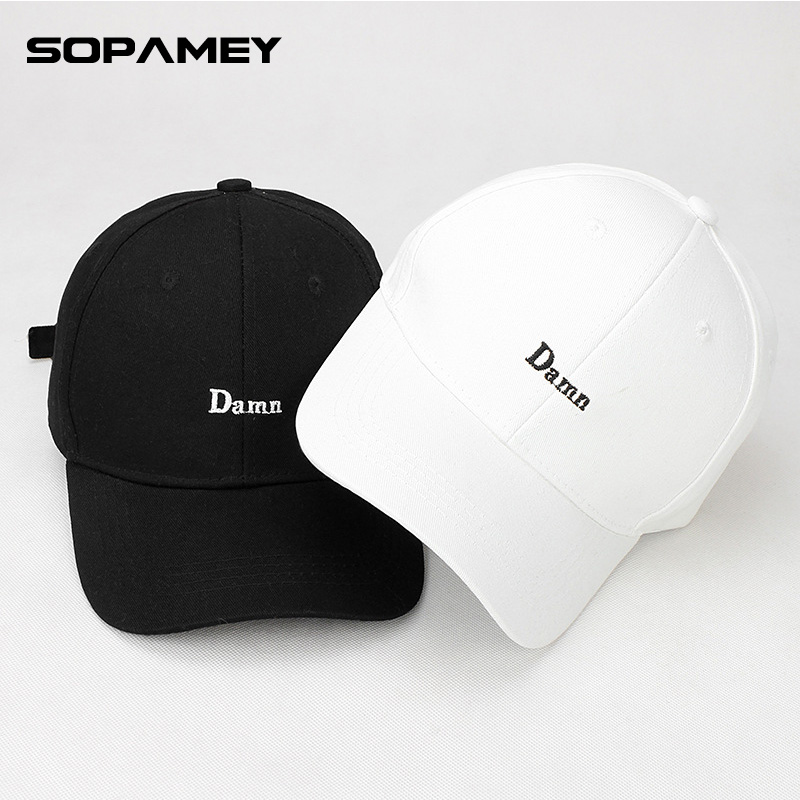 2017 Brand Letters Embroidery DAMN Cap Hip hop Snapback Baseball Hat Dad Hats For Men and Women Male Bone Cap Outdoor Sports Cap