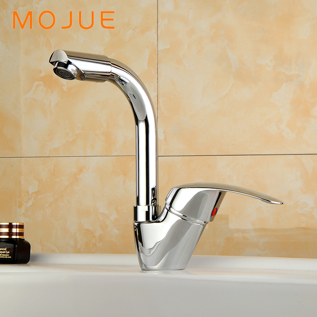 Mojue High Quality Bathroom Faucets Mixer Cold And Hot Water Basin Faucet Br Material Mj