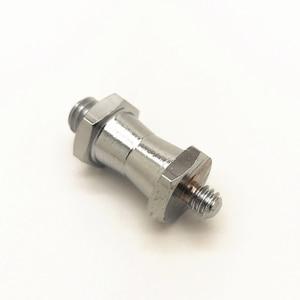 1/4 Male to 3/8 Male Threaded Convert Screw Adapter Spigot Stud for Flash Light Tripod Studio Bracket 1/4-3/8