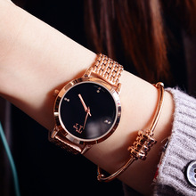 2016 women ladies watches top brand luxury high fashion gold watches women dress watch diamond crystal bracelet relogio relojes
