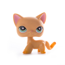 Lps old collection Pet Shop cat Toys Lps free shipping Short Hair Cat Action Standing Figure Cosplay Toys Children Best Gift new pet genuine original lps 2341 green eye sparkle glitter fox cat toys