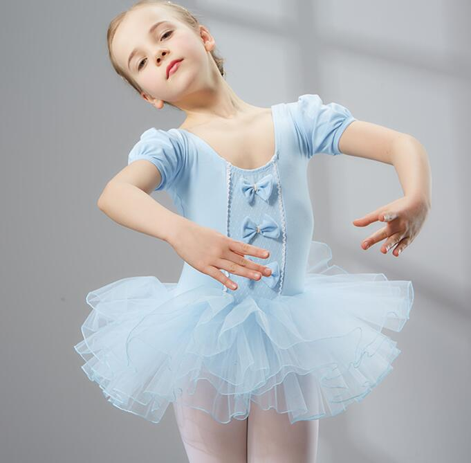 Classical Ballet Tutu Dancewear 4-10 Years Girls Ballet Clothes Costumes Toddler Leotard Professional Tutus Ballerina Dress Kids