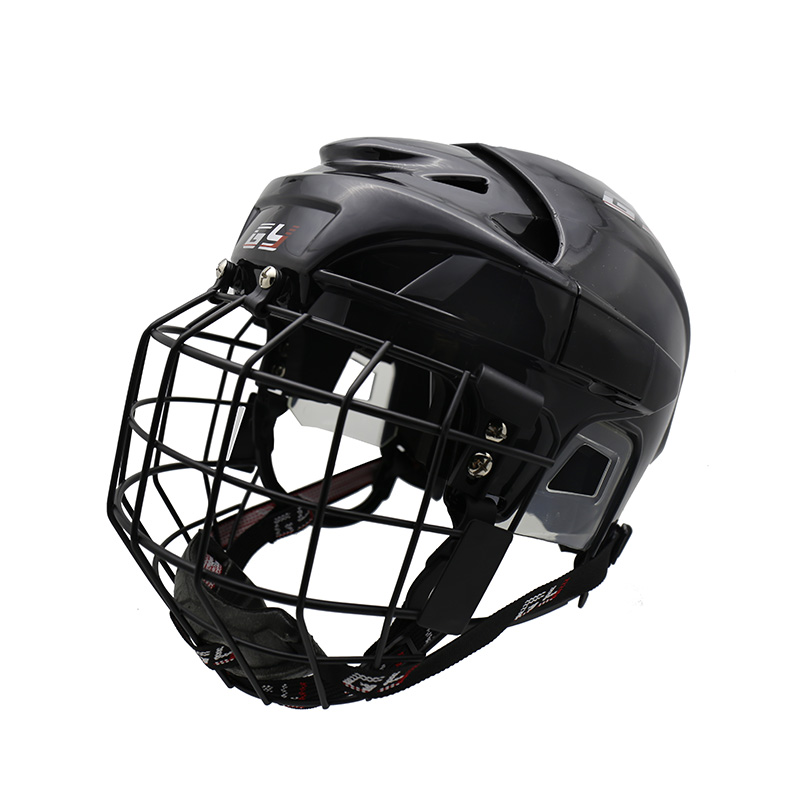 цена на GY Senior Ice Hockey Player Helmet CE Approval Face Shield Mask