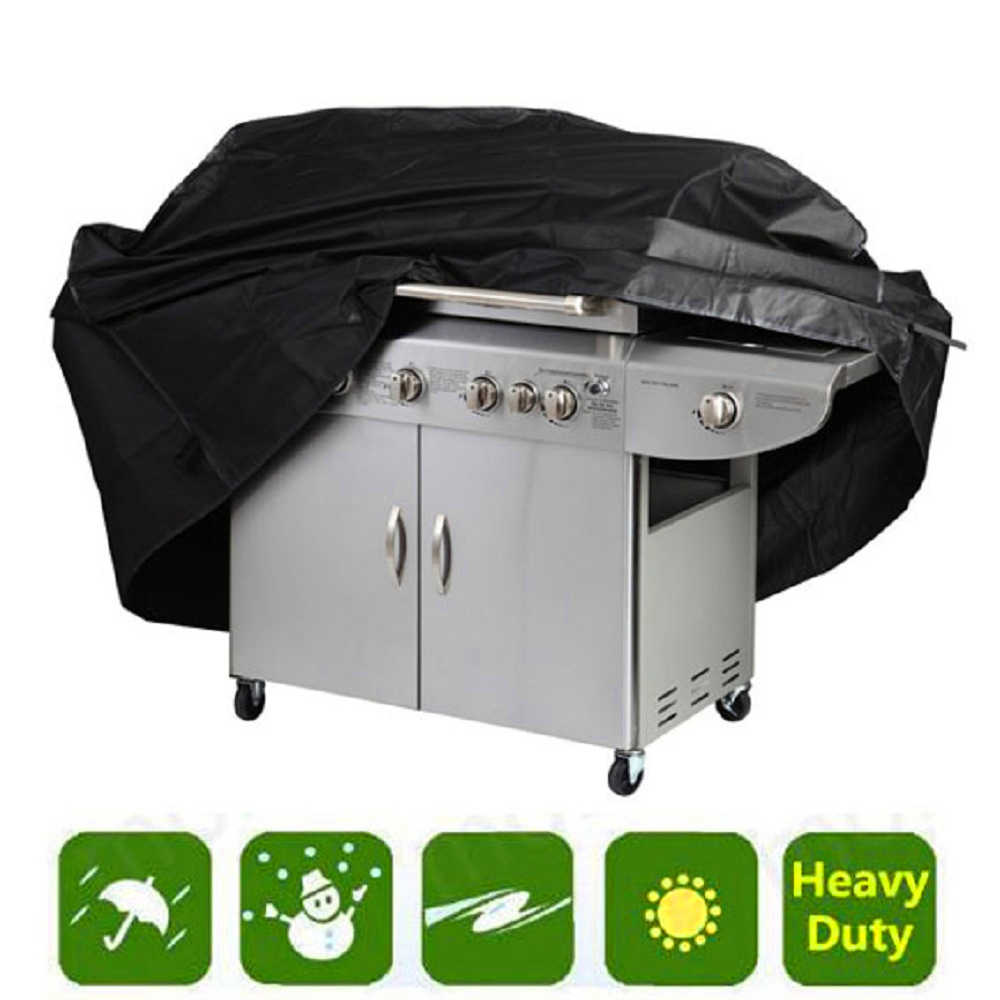 Waterproof BBQ Grill Barbeque Cover Weber Outdoor Rain Grill Barbacoa Anti Dust Protector Gas Charcoal Electric Barbe Bag